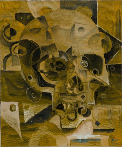 ANTON HENNING, Portrait No. 309, 2011