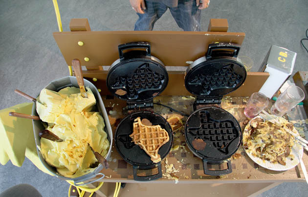 ADAM JANES, portable wheelin' dealin' texas waffle cart, 2008
