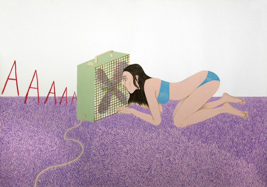 ED TEMPLETON, Screaming into the fan, 2012