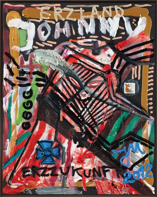 "JONATHAN MEESE, ""BABY JOHNNY PROLLETISIERT ALLES IM NAMEN DER ERZDEMUT"", 2012"