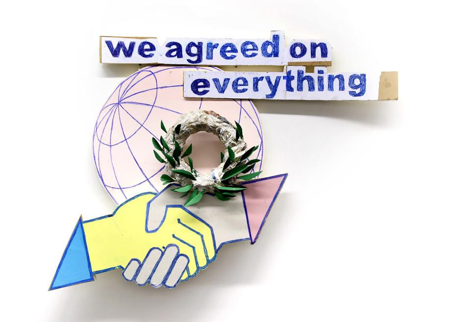 BENJAMIN VERDONCK, We agreed on everything, 2012