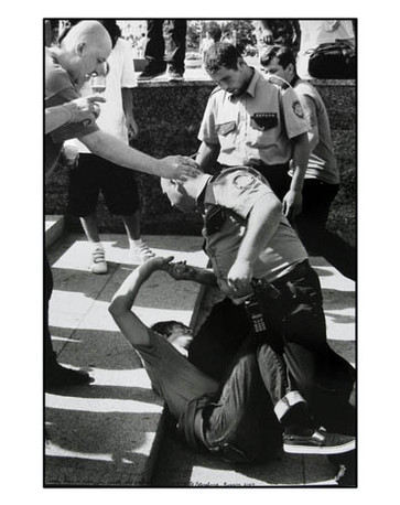 ED TEMPLETON, Josh has a run-in with the police, St. Petersburg, 2007