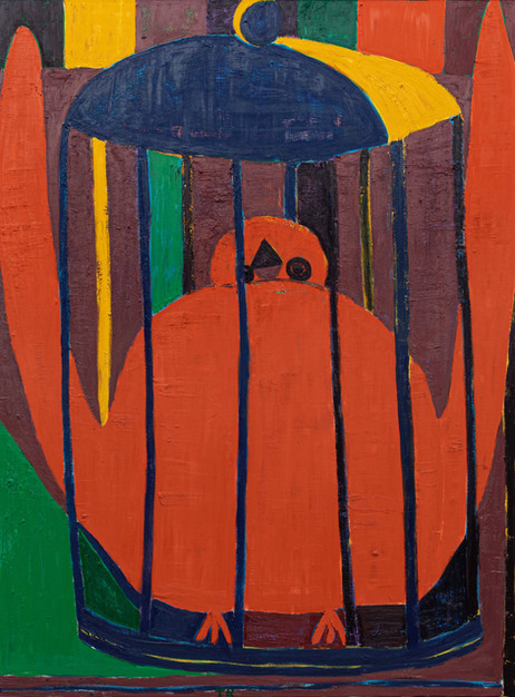 TAL R Ursula, 2020 oil on canvas 250 x 187 cm