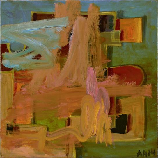 ANTON HENNING, Interieur No. 521, 2014