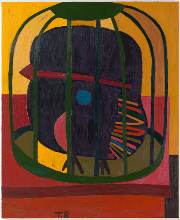 TAL R Pauline, 2019-2020 oil on canvas 244 x 200 cm