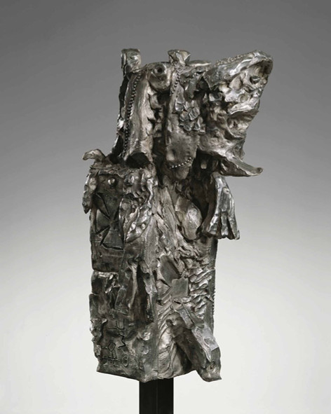 JONATHAN MEESE BABYADMIRAL NULLPE, SEESCHLACHT NO PROBLEM (Gefecht bei SALAMI und Lakritze), 2007 bronze 106 x 45 x 52 cm edition of 3 and 1 A.P.