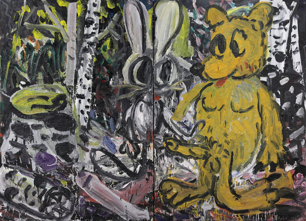 ARMEN ELOYAN, Rabbit and Bear or Bear and Rabbit, 2011