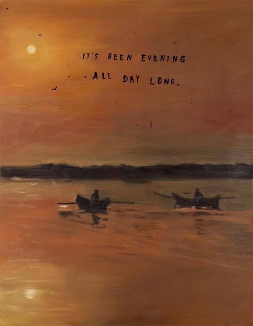 FRIEDRICH KUNATH, It's Been Evening All Day Long., 2018