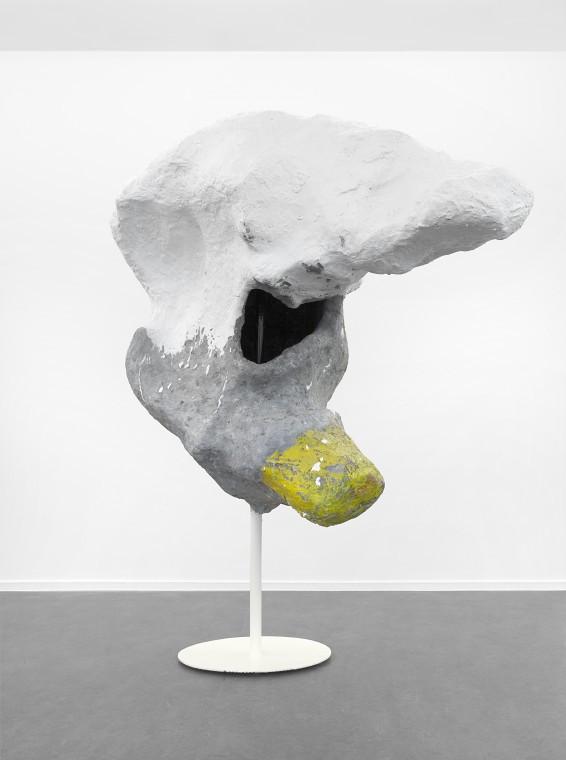 FRANZ WEST Lemur, 2009 papier mache, styrofoam, metal, acrylic paint 176 x 136 x 63 cm