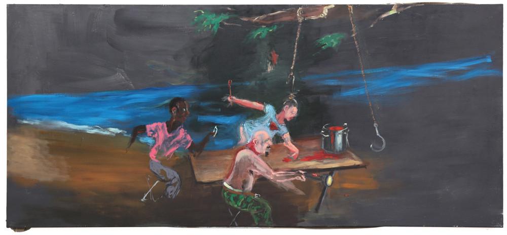 AARON VAN ERP, De soepeetster, 2014