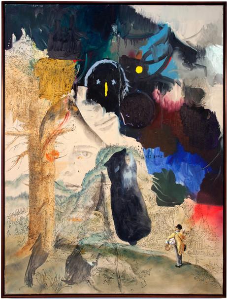 FRIEDRICH KUNATH Love Story, 2017 - 2018 acrylic and oil on canvas, 122 x 91,5 cm