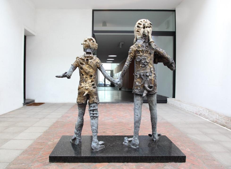 JONATHAN MEESE, Wir, Erzkinder lernen Macht (Süsses Dorf der Verdammtin) = Die Gören, 2007