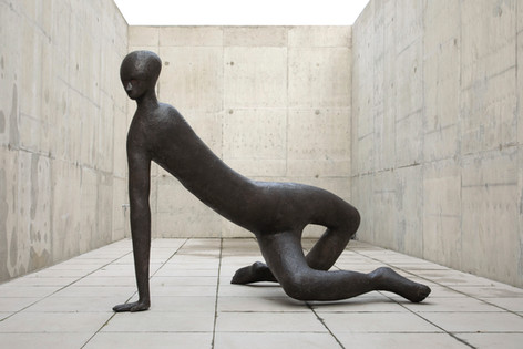 HENK VISCH Subterranean man, 2015 bronze 160 x 210 x 170 cm edition of 2 and 1 A.P.