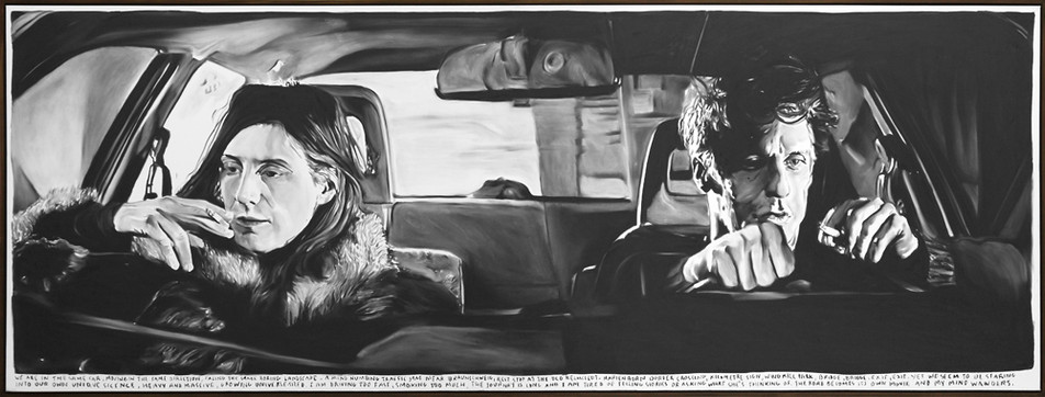 RINUS VAN DE VELDE, We are in the same car, moving in the same direction …, 2015