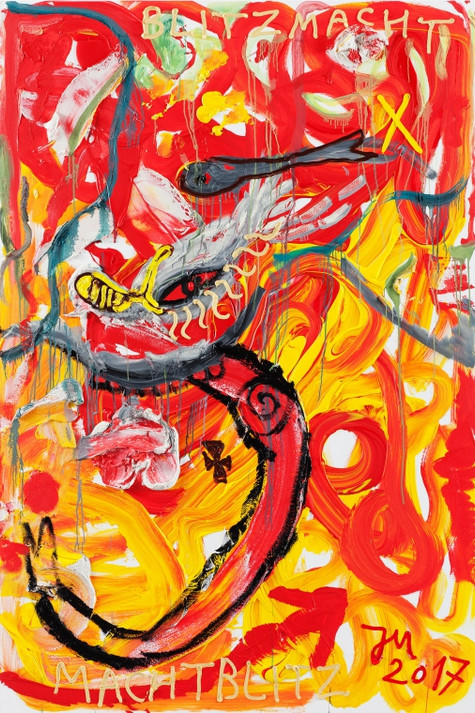 JONATHAN MEESE, JAWOHL, IM FUZZY BLUTRAUSCH Z.A.R.D.O.Z. DE LARGE.., 2017