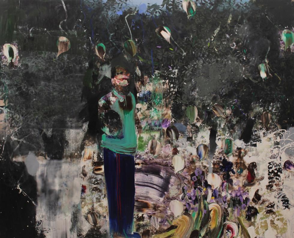 ADRIAN GHENIE, Selfportrait as Vincent Van Gogh 4, 2014
