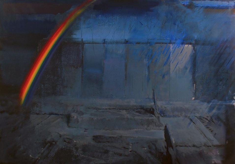 ADRIAN GHENIE, Rainbow at dawn, 2009