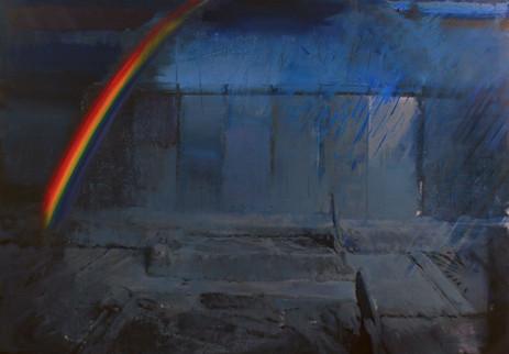 ADRIAN GHENIE Rainbow at dawn, 2009 oil on canvas 200 x 290 cm