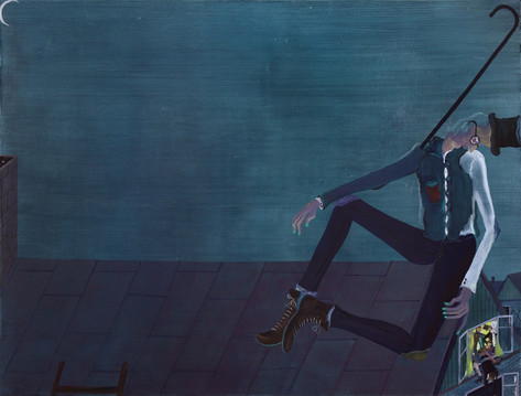 TOMASZ KOWALSKI Untitled, 2010 oil on canvas 115 x 150 cm