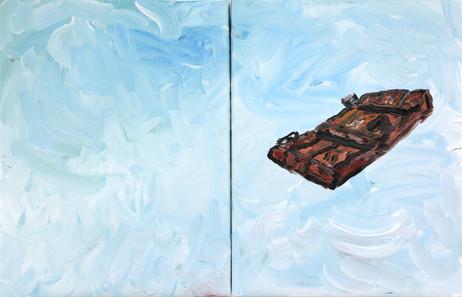ARMEN ELOYAN The Door, 2011 oil on canvas 65,5 x 100,4 cm