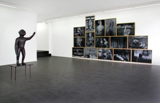 "ED TEMPLETON: ""The Brutality of Belief "", 2007 resin coated lightjet prints, framed - 15x (89 x 61 cm)  EDWARD LIPSKI: ""Monkey"", 2007 mixed media 114 x 90 x 50 cm"