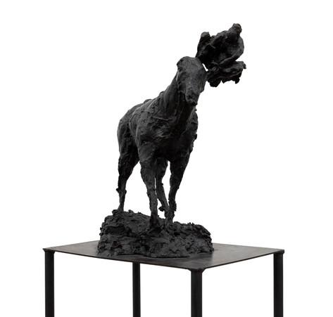 PETER ROGIERS Lorelei, 2020 bronze 169 x 43 x 30 cm