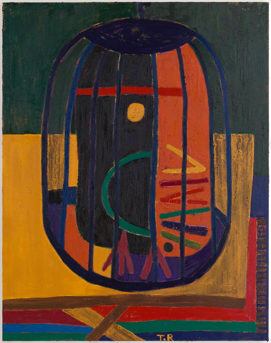 TAL R Kanel, 2019-2020 oil on canvas 254 x 200 cm