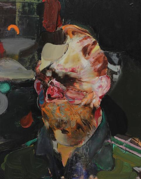 ADRIAN GHENIE, Selfportrait as Vincent Van Gogh 2, 2014