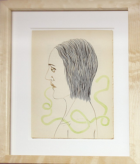 ED TEMPLETON, Untitled (Green Word Bubble), 2012