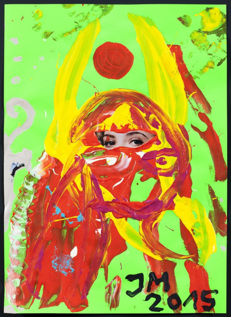 "JONATHAN MEESE, ""FRUITY FRÄULEIN FRUITY DE LARGE SERIES"" 3, 2015"