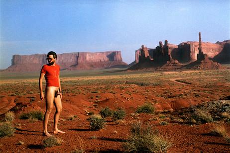 GELITIN Untitled (from series Staenderfotos - Nudes), 2000 lambda C-print 125 x 187 cm