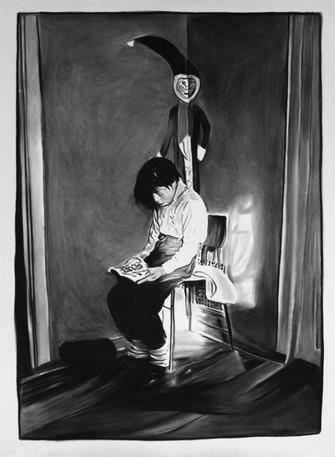 RINUS VAN DE VELDE, A portrait of the artist as young man, 2011