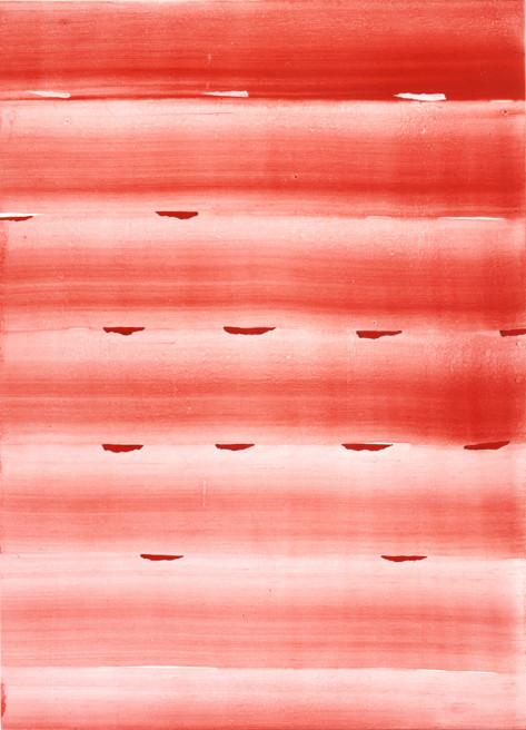 JUAN USLÉ Aliento, 2004-2005 61 x 46 cm Vinyl, dispersion and pigments on canvas