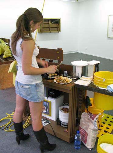 ADAM JANES, portable wheelin' dealin' texas waffle cart, 2008