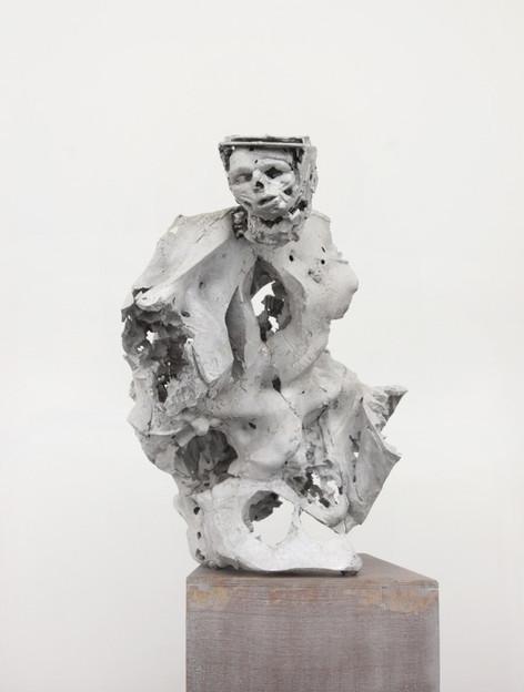 PETER ROGIERS Wild Boys & Girls, 2013 178 x 65 x 84 cm aluminium, wood