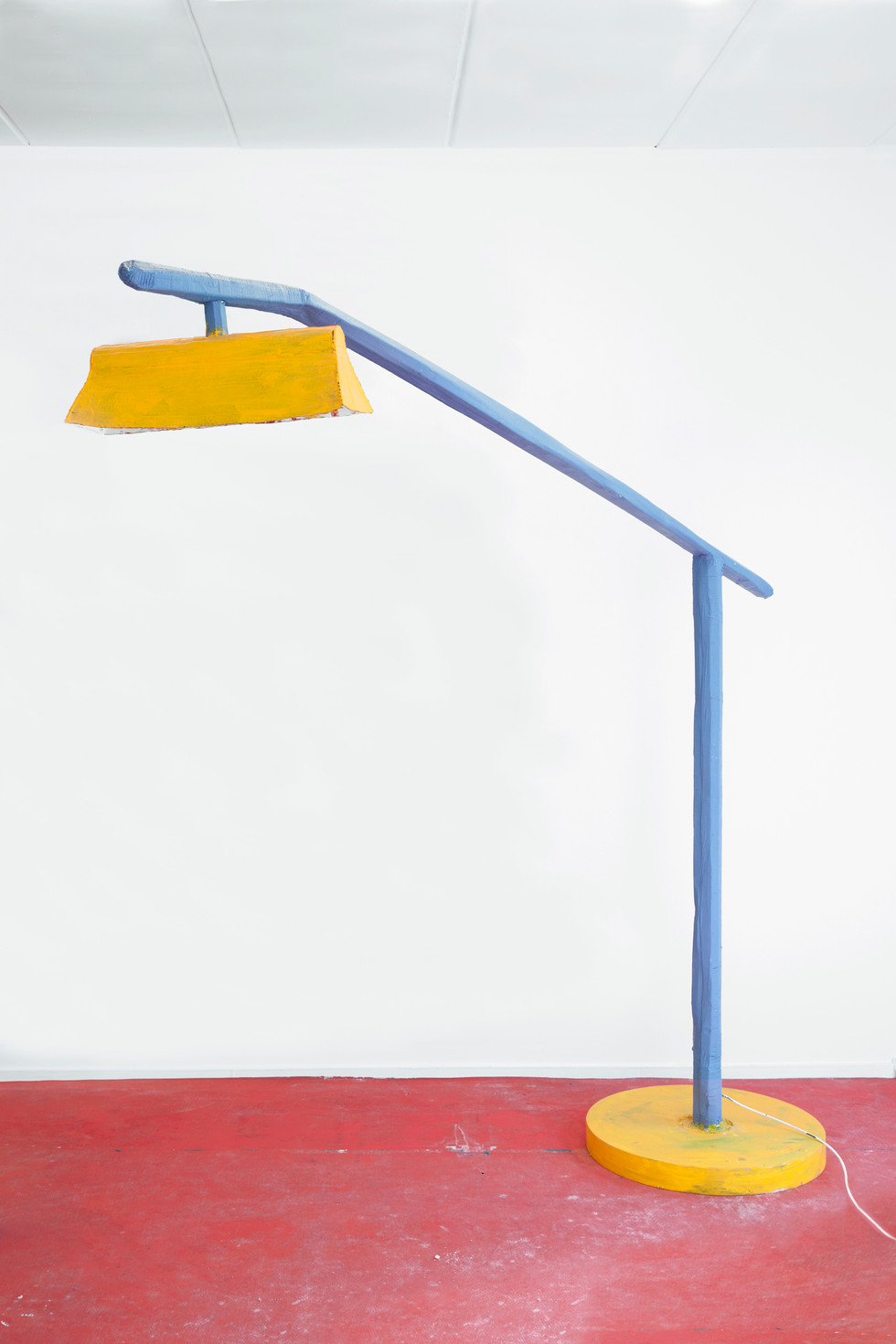RINUS VAN DE VELDE,  Prop, Studio Robert Rino, Blue & Yellow Lamp, 2017