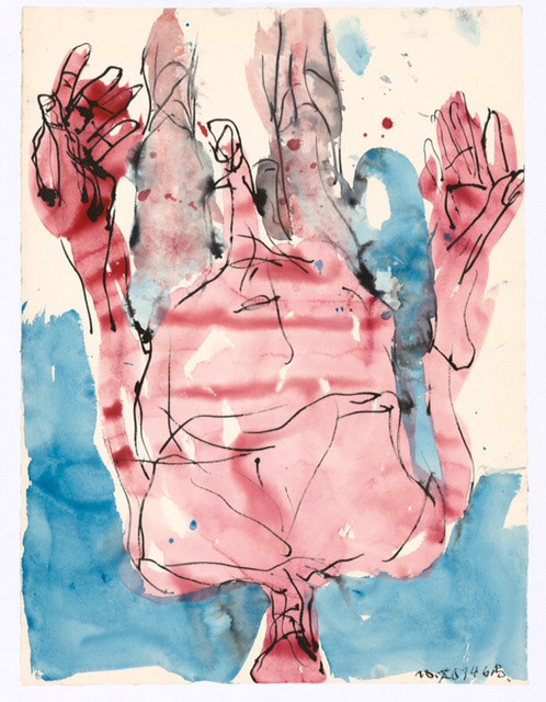 GEORG BASELITZ, Untitled, 2014