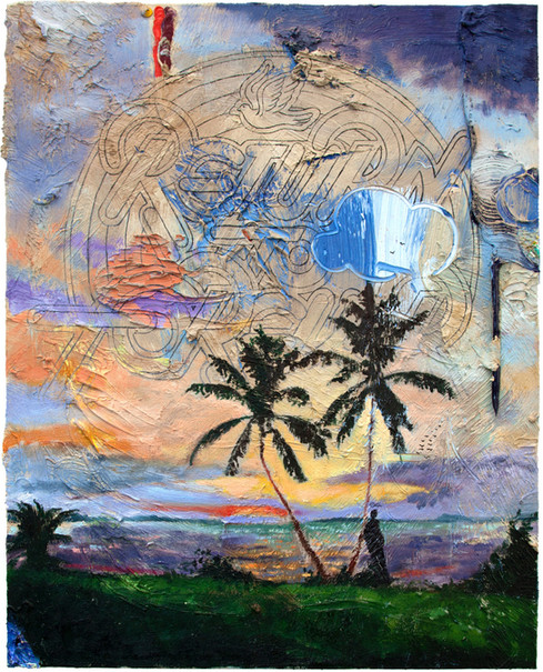 FRIEDRICH KUNATH, Return To Forever (Two Palms), 2018