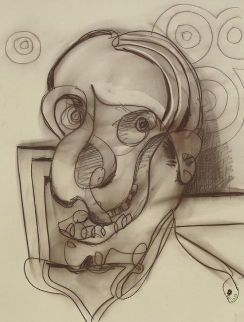 ANTON HENNING, Portrait No. 305, 2010