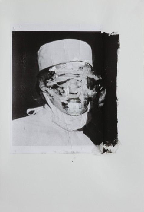 ADRIAN GHENIE, Study for The Kaiser Wilhelm Institute 1, 2011