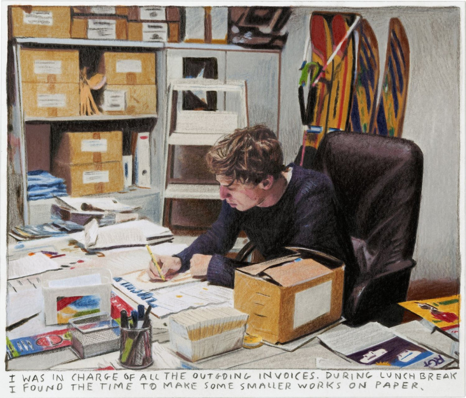 RINUS VAN DE VELDE I was in charge of all the outgoing invoices..., 2018