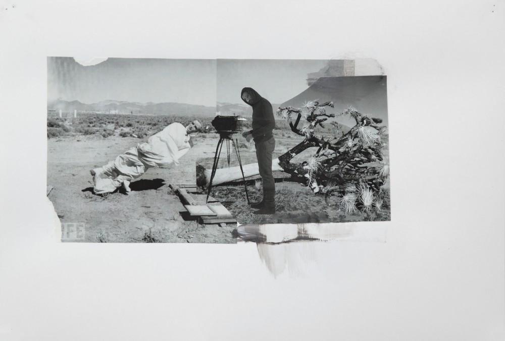 ADRIAN GHENIE, Study for The Blow, 2010