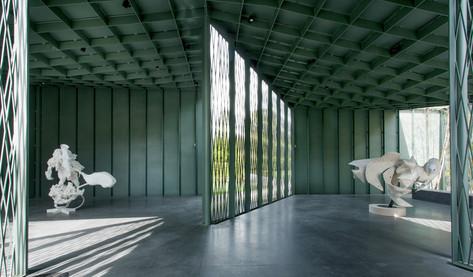 PETER ROGIERS, View 'Cluster', Middelheim Museum, 2016 Photo: Dirk Leemans