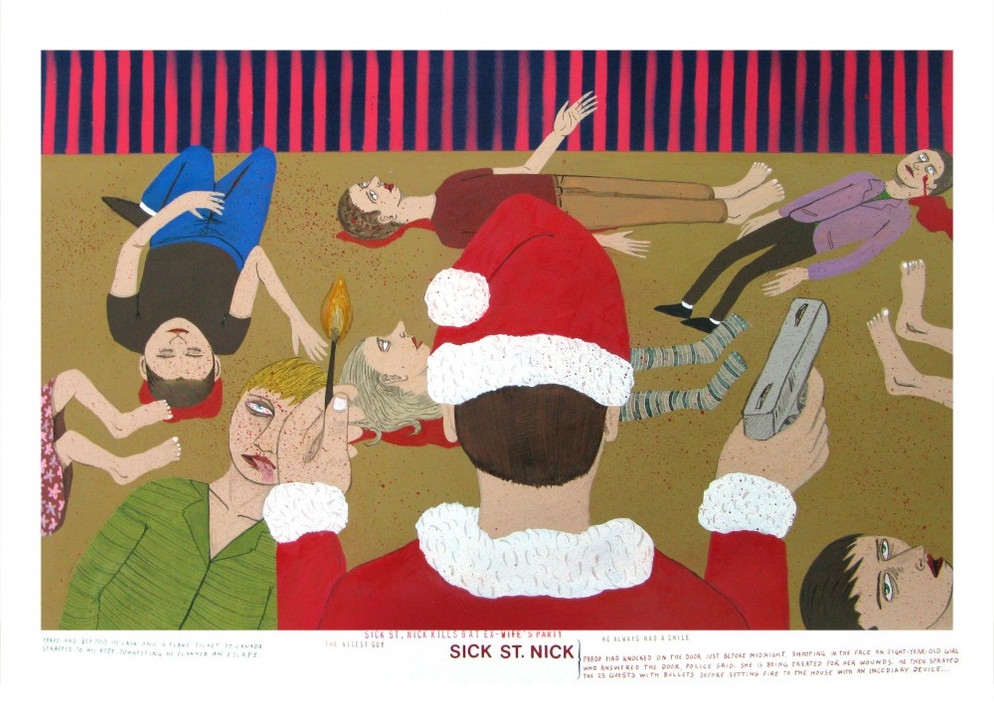 ED TEMPLETON, Sick St.Nick, 2009