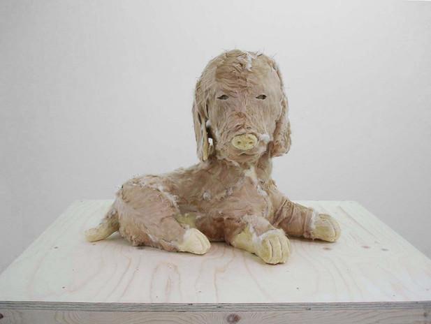 EDWARD LIPSKI Puppy, 2005 141 x 84 x 98 cm