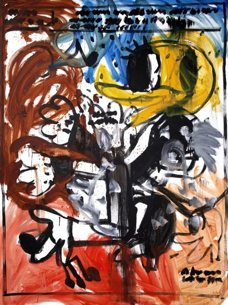 ARMEN ELOYAN Untitled (AR 01), 2018 oil on canvas 240 x 180 cm