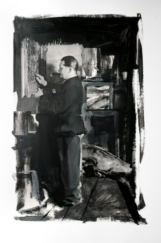ADRIAN GHENIE, Collector 3 - Study, 2008