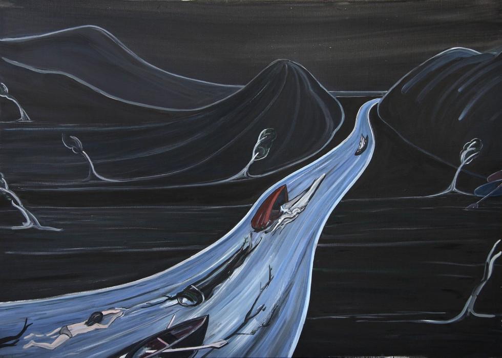 ELLEN DE MEUTTER, The Waves, 2008