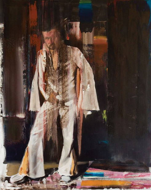 ADRIAN GHENIE, Selfportrait, 2009