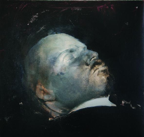ADRIAN GHENIE, Turning Blue, 2008